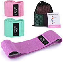 Awroutdoor Resistance Bands for Legs and Butt,Hips, Exercise Band Hip Bands Workout Bands Booty Bands Resistance Loop Bands -Beginner, Intermediate and Professional Use