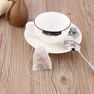 FairytaleMM 100 unids/Lote Bolsas de té vacías Cadena de Sellado térmico Papel de Filtro