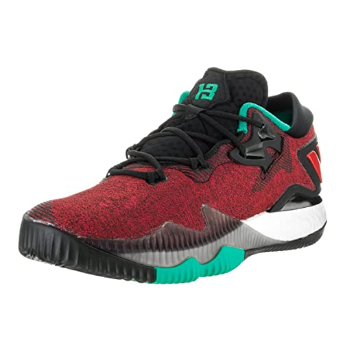 new style 85b74 78ad0 adidas Performance Mens Crazylight Boost Low 2016 Basketball Shoe