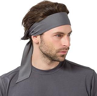 e42913c64ed828 Brave Pioneer Herren Stirnband Sport Schweißband Kopfband Damen Elastische  Haarband rutschfest Knoten Für Sport Freizeit Fußball