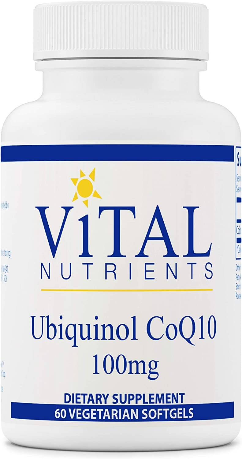 Vital Miami Mall Nutrients - safety Ubiquinol CoQ10 Activated Form Q Coenzyme of
