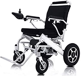 Electric Wheelchair Folding Lightweight Supports 360 lbs Aircraft Grade Aluminum Alloy Frame More Strength Upgraded More