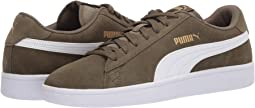Burnt Olive/Puma White/Puma Team Gold
