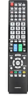 VINABTY New GA806WJSA Replaced Remote fit for Sharp Aquos LCD TV LC-40LE700 LC-40LE700UN LC-46LE700 LC-46LE700UN LC-52LE700 LC-40LE700UN SXV-4035