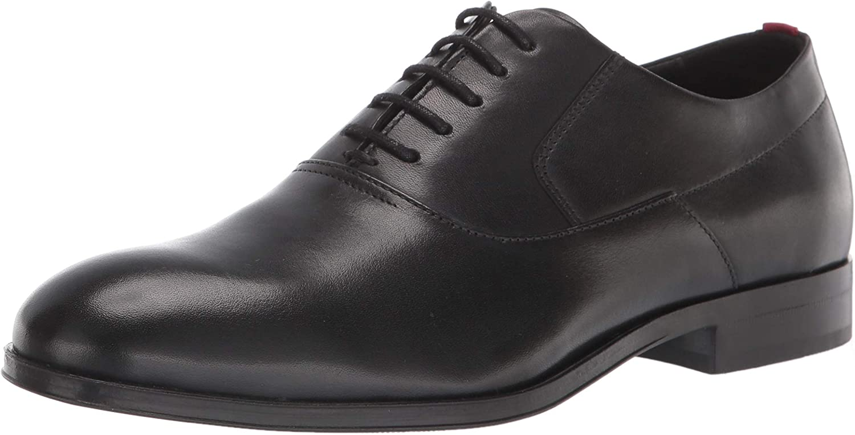 HUGO by Hugo Boss mens Shoes Oxford, Noir Black, 11.5 US