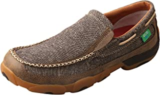 Twisted X Men's ECO TWX Slip-on Driving Moccasins - Dust