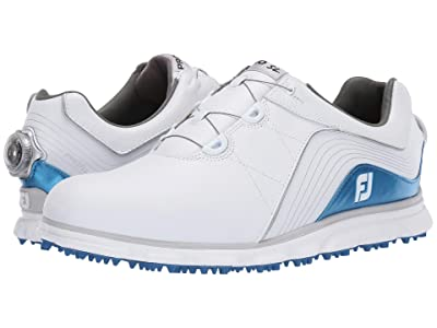 FootJoy Pro SL Spikeless BOA (White/Indigo) Men