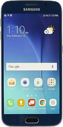 Samsung Galaxy S6 SM-G920V 64GB Sapphire Black Smartphone For Verizon (Renewed)