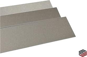 Blechzuschnitt Edelstahl Blende V2a Edelstahl Spiegelblende V2a Streifen 65 mm Blechstreifen hochglanz poliert V2A 0,8mm stark Zierstreifen Edelstahl Blechstreifen 2000
