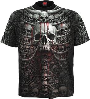 Spiral Mens - Death Ribs - Allover T-Shirt Black