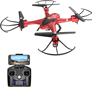 Holy Stone HS200 FPV RC Drone with HD WiFi Camera Live Feed 2.4GHz 4CH 6