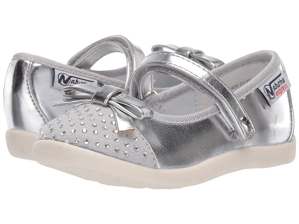 Naturino Express Silvana (Toddler/Little Kid) (Silver 1) Girls Shoes