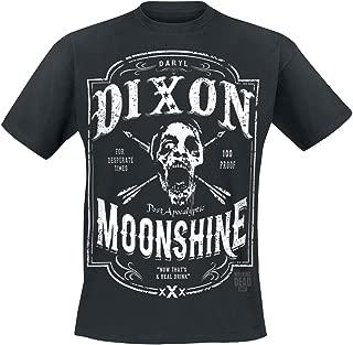 Changes The Walking Dead Daryl Dixon Moonshine Men's Black T-Shirt