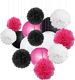 Best pink black and white wedding centerpieces Reviews
