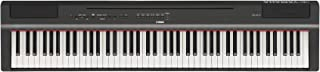 Yamaha P-121B - Piano Digital, Negro