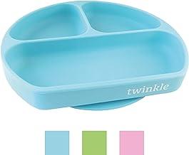 Twinkle - Plato de Silicona con Ventosa para Bebe - Plato
