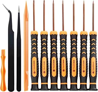 Tournevis professionnel de qualit/é pr/écise et industrielle pour MacBook MacBook Pro et MacBook Air avec /écran Retina HOUSEGAGA Tournevis de pr/écision /à 6 pointes Tournevis Torx T5
