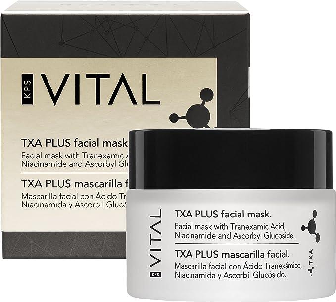 28 opiniones para KPS VITAL 【PREMIUM】 TXA PLUS Mascarilla Facial Mujer | Hidratante | Limpiador