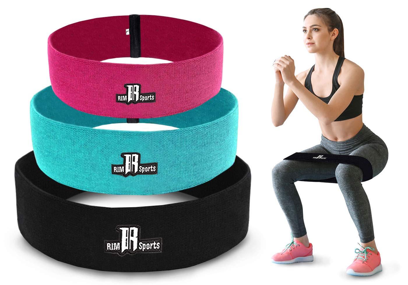 RIMSports Bandas de resistencia para ejercicios de bota – ideal ...