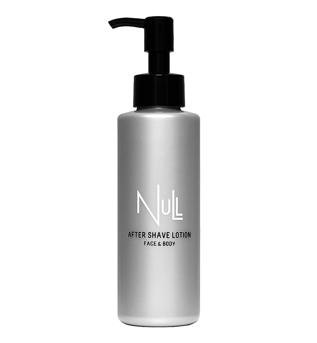 貯水池法医学推進NULL アフターシェーブローション 化粧水 150ml 【メンズ】除毛やヒゲ剃りのアフターケアに