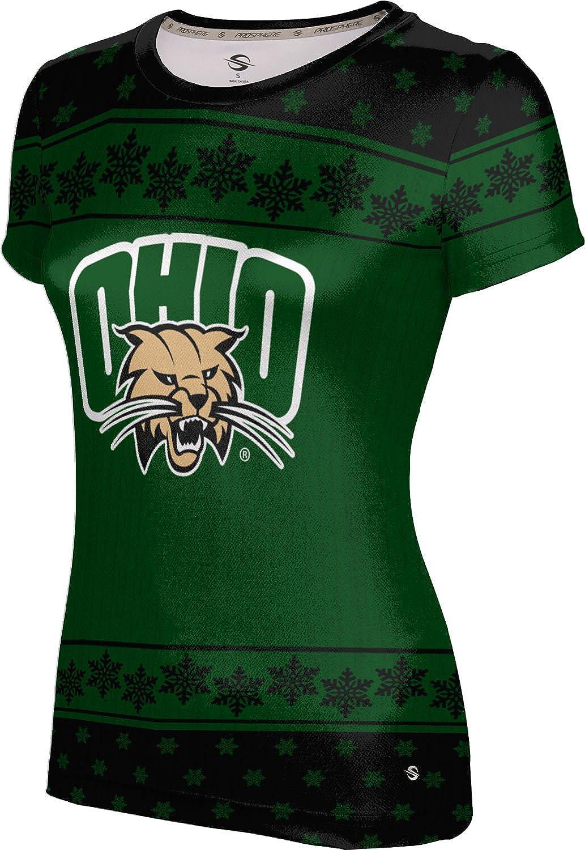 ProSphere Ohio University Ugly Holiday Girls' Performance T-Shirt (Snowflake)