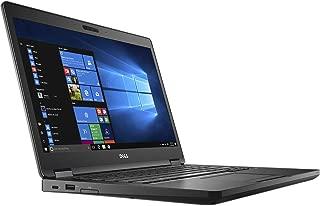 Dell Latitude 14 5000 5480 Business Laptop: 14in Touchscreen FHD (1920x1080), Intel Quad-Core i5-7440HQ, 256GB SSD, 8GB DDR4, Backlit Keyboard, Webcam, Bluetooth, Windows 10 Pro (Renewed)