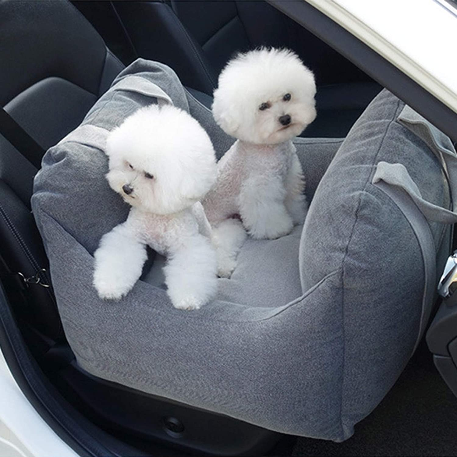 BESTHLS Dog Recommended Car Seat for New York Mall Small and Medium Dogs lbs 30 to up Cats