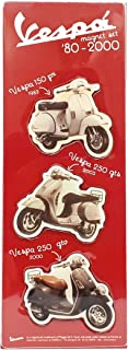 Magnets BLISTER 50-60-70 Years, Red, Vespa, ITALY