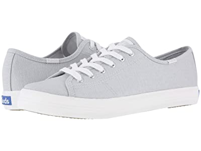 Keds Kickstart Mini Chambray (Light Gray) Women