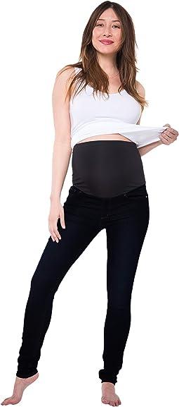 Soho Maternity Over the Belly Skinny Denim in Black