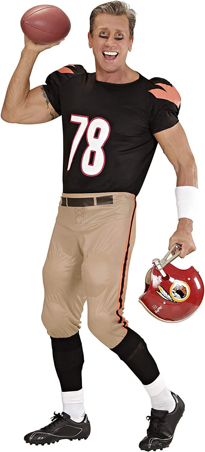American Football Large 42 44 Player Adult Fancy Dress Costume