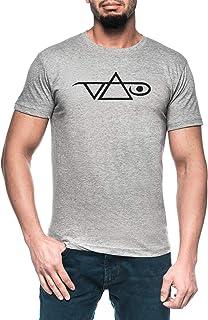 Vai Hombre Gris Camiseta Manga Corta Men's Grey T-Shirt