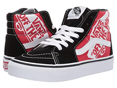 Vans Kids SK8-Hi (Little Kid/Big Kid) ((OTW Quarter) Heel Scab/Black/True White) Boys Shoes