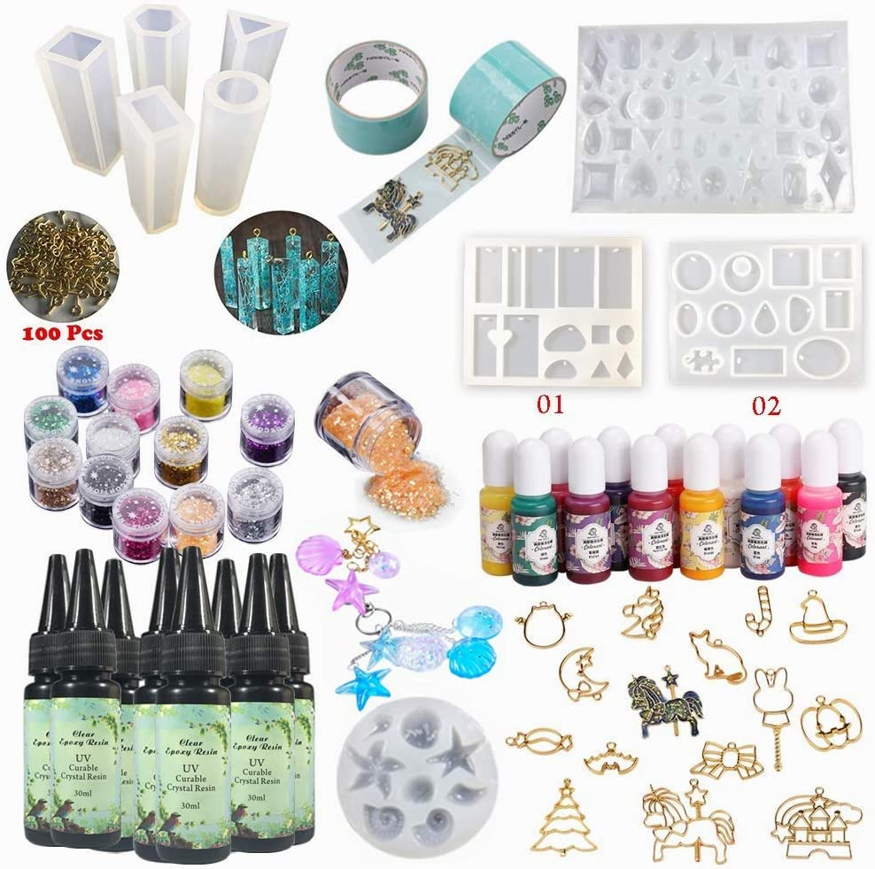 8pcs New York Mall UV Epoxy Resin Fresno Mall Crystal Clear Sunlight with Drying 13 Quick