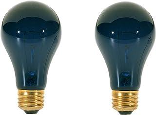 75 Watt A19 Incandescent Light Bulb, Black Light (2 Pack)