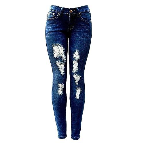 Damen Jeans Weste Stretch Gr.M in Jeans Blau von H.I.S