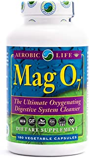 Aerobic Life Mag O7 Oxygen Digestive System Cleanser Capsules (180 Count)