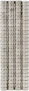 BYKES 100 Neodymium Strong Powerful Rare Earth Magnets 1/8