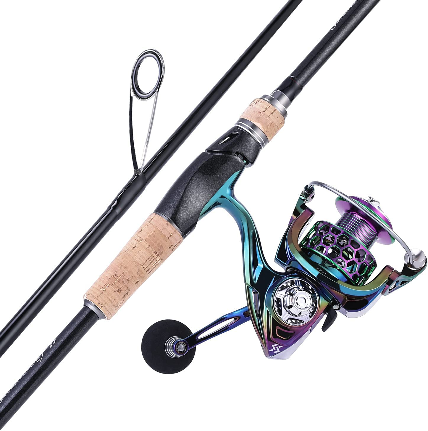 Max 88% OFF Sougayilang Fishing Rod Reel Combos Quality inspection 24 Carbon Spinnin Ton Fiber