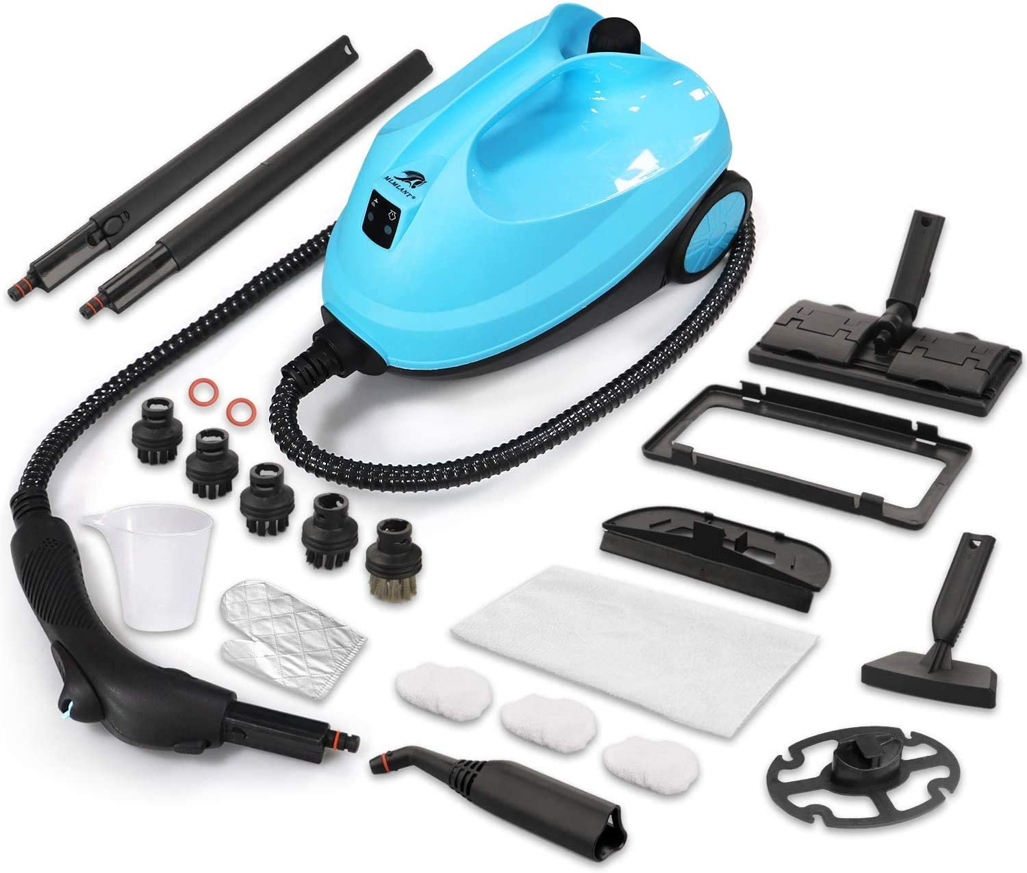 OFFer MLMLANT Multipurpose Steam Cleaner with Spring new work one after another 21-Piece St Accessories