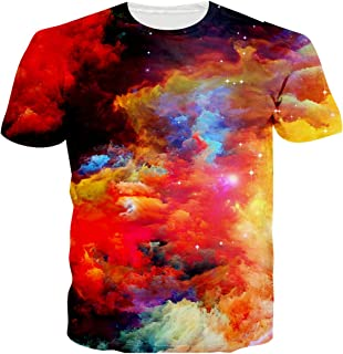 Doxi Brand Unisex 3D Men Fashion Space Galaxy Harajuku Casual Cool T-Shirt