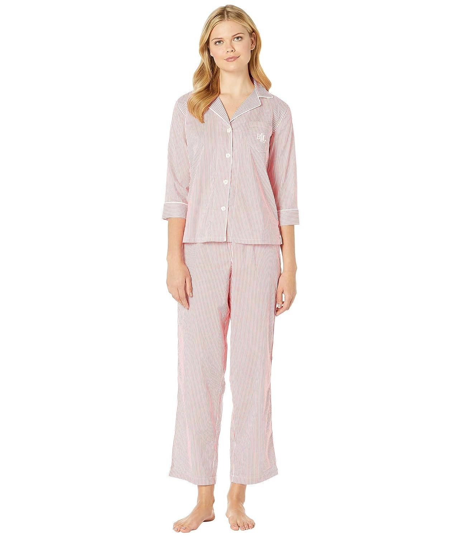 [ラルフローレン] レディース ナイトウェア 3/4 Sleeve Pointed Notch Collar Pajama S [並行輸入品]