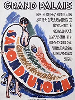 Grand Palais - Salon d'Automne Vintage Poster (artist: Van Dongen) France c. 1920 74922 (24x36 SIGNED Print Master Art Print - Wall Decor Poster)