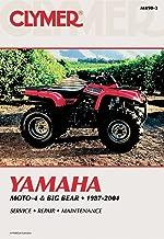 Clymer Repair Manual for Yamaha ATV YFM350 YFM400 87-04