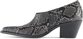 Zara Women Animal Print Cowboy Ankle Boots 7128/001