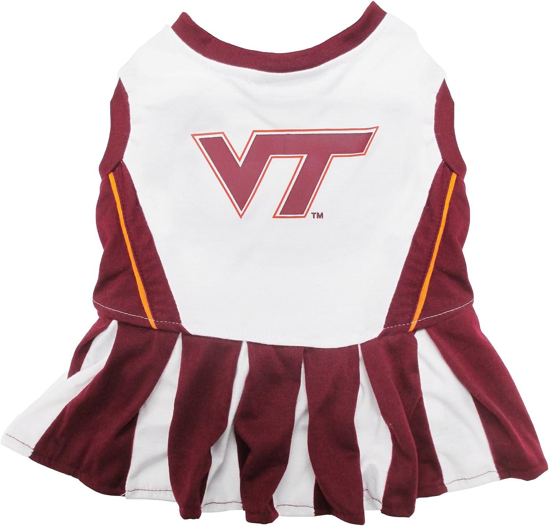 NCAA VIRGINIA TECH HOKIES DOG Cheerleader Outfit, Small