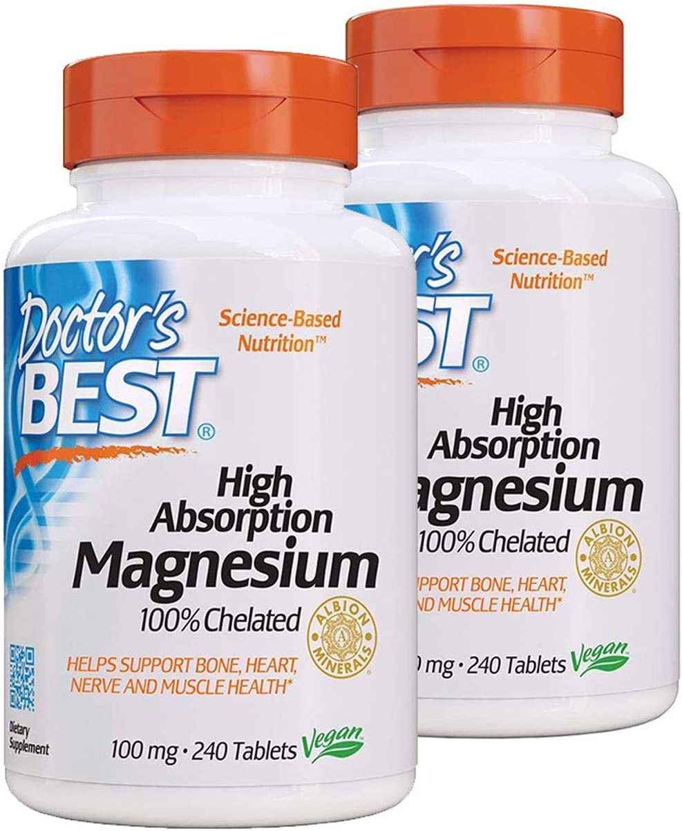 Doctor's At the price Minneapolis Mall Best High Absorption Magnesium 100 mg Pack ct - 240