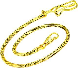 Clip Pocket Watch Chain - BOSHIYA Vintage Metal Alloy Pocket Vest Chain
