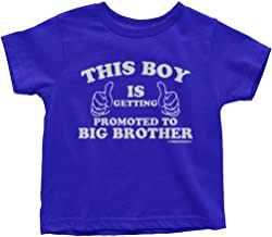 Threadrock Little Boys' This Boy is Getting Promoted to Big Brother T-Shirt