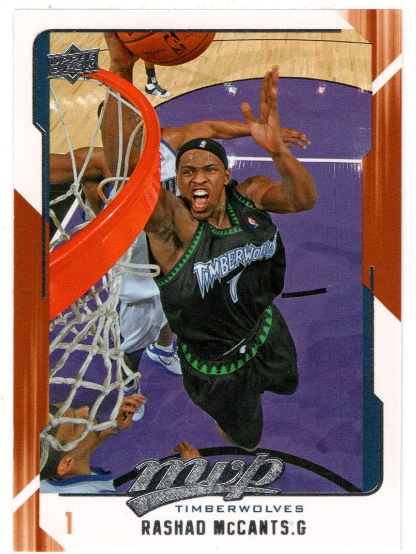 Rashad McCants - New popularity Minnesota Card 2008-0 Basketball Timberwolves Free shipping on posting reviews